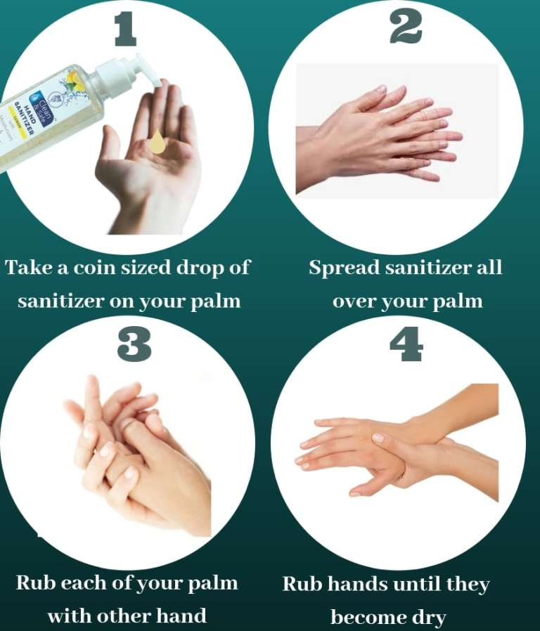 Hand Sanitizer or Hand Washing